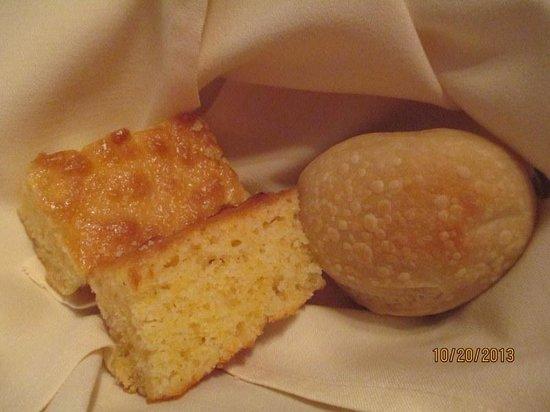 The Homestead Restaurant & Tavern: House Rolls & Corn Bread