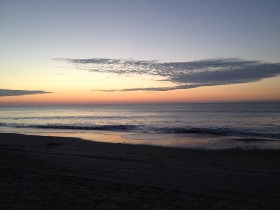 Coral Beach Resort & Suites: view from beach at sunrise