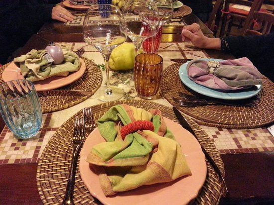 Lillo Tatini: Table decoration