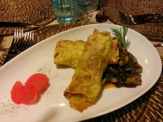 Lillo Tatini: Cannelloni with Lake Fish