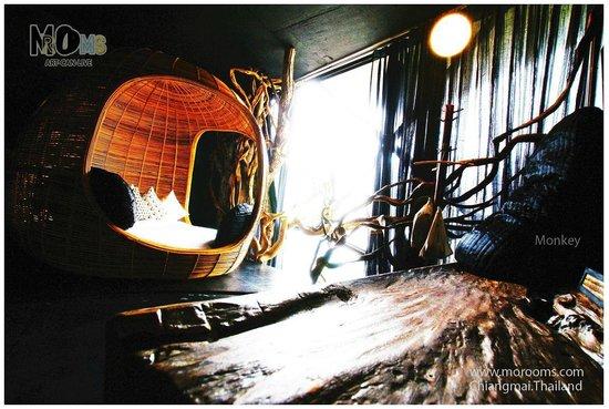 MO Rooms : Monkey room
