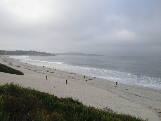 Comfort Inn Carmel By The Sea : The Carmel beach - totally overcrowded ;-)