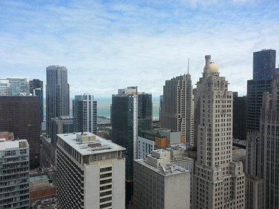 Chicago Marriott Downtown Magnificent Mile: View from high floor