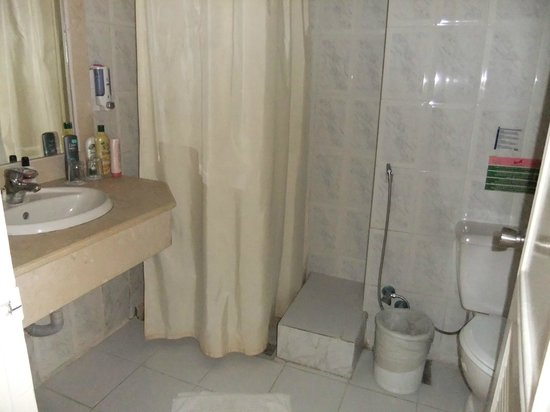 Triton Empire Hotel: Shower works well