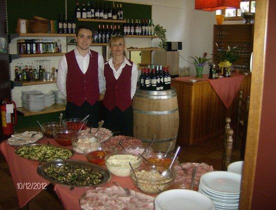 Germagno, Italy: i camerieri
