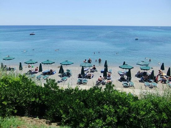 Sunwing Kallithea Beach : Strand
