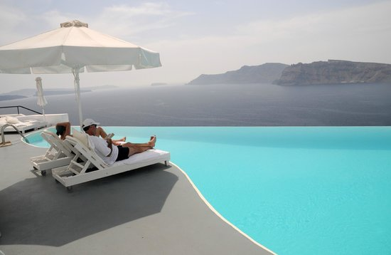 Katikies Hotel: piscina