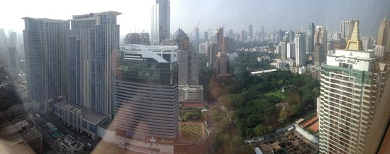 The Okura Prestige Bangkok: View from room