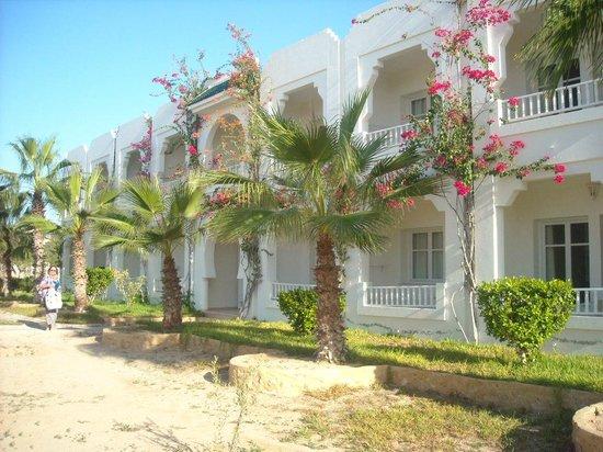 Djerba Sun Club: Une des facades