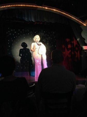 "The Cabaret At La Te Da: the talented ""Marilyn"""