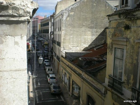 Hotel Portuense: Vista da janela