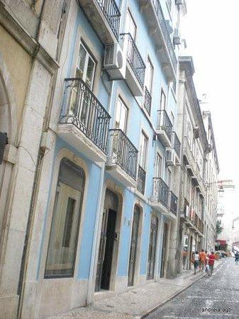 Hotel Portuense: Entrada