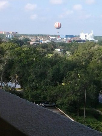 Holiday Inn Orlando – Disney Springs Area: View from our balcony 1