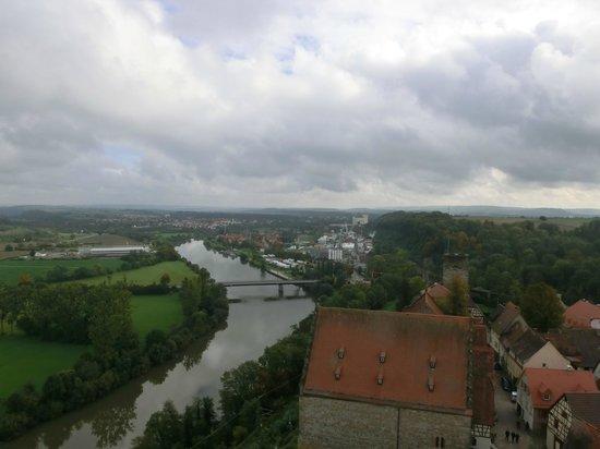 Blauer Turm: Otra vista sobre Neckar