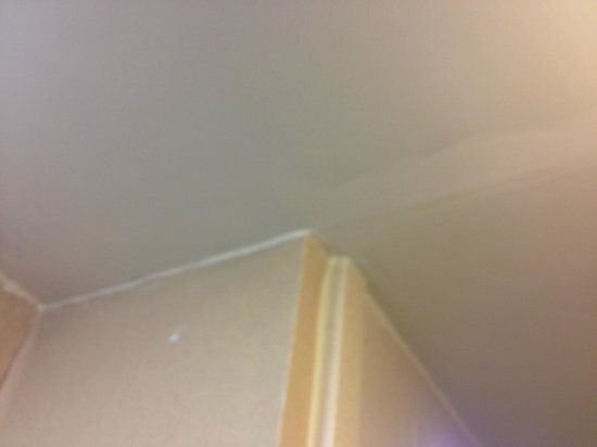 Hampton Inn Cherry Hill/Voorhees: Walls were stained and repatched
