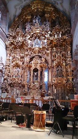 Templo La Valenciana : altar mayor