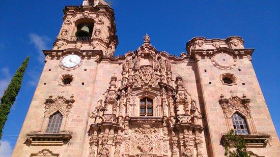 Templo La Valenciana : fachada