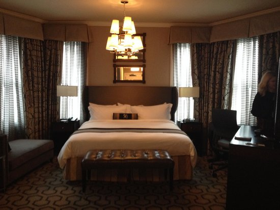 Copley Square Hotel: Our Room