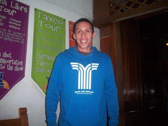 Mexico City Hostel: Jorge: Reception