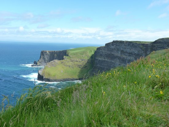 Liscannor, Ireland: The mighty cliffs of Moher