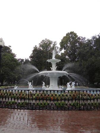 Parc Forsyth : Park fountain