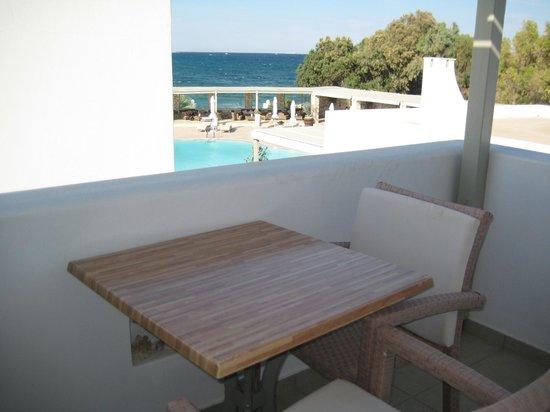 Saint Andrea Seaside Resort: view from room balcony