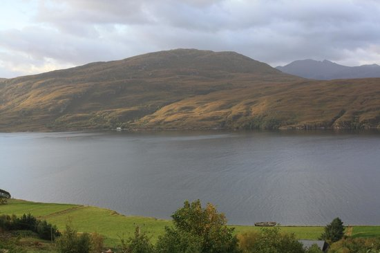 Ardlair Ullapool Bed & Breakfast: View from master section of 2 bed room