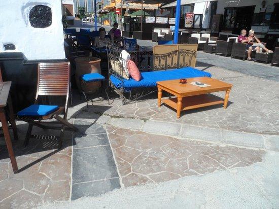Cordon Blue: Our favourite seat - total sun trap