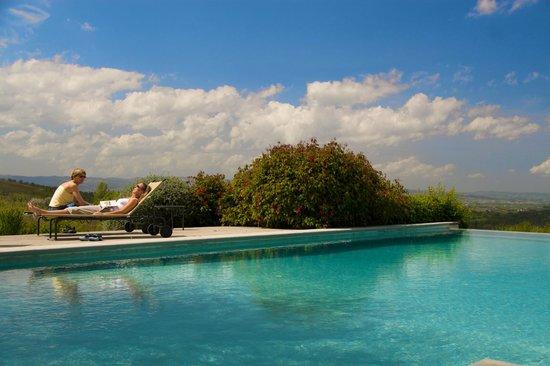 Podere Barberino in Chianti: At the pool
