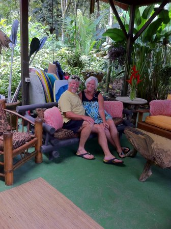 Iguana Lodge: Like your own living room!!