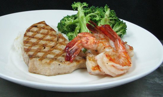 Legal Sea Foods: Swordfish & Shrimp Combo