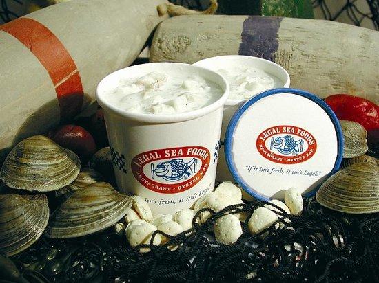 Legal Sea Foods: Chowder