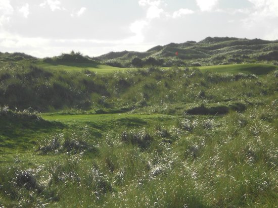 Enniscrone Golf Club: view from the tee