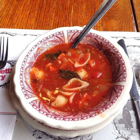The Old Spaghetti Factory : Minestrone