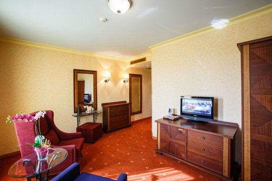 Arena di Serdica Residence Hotel: Deluxe suite living room