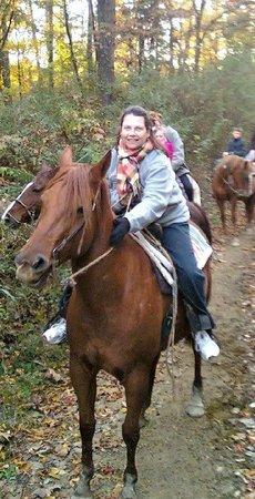 Schooner Valley Stables: Me and Spicy