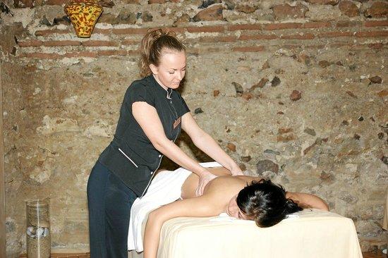 Arena di Serdica Boutique Hotel: Massages at the Wellness club