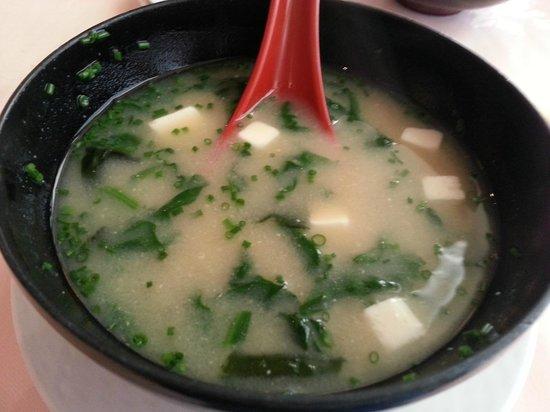 Ginza: Sopa de miso