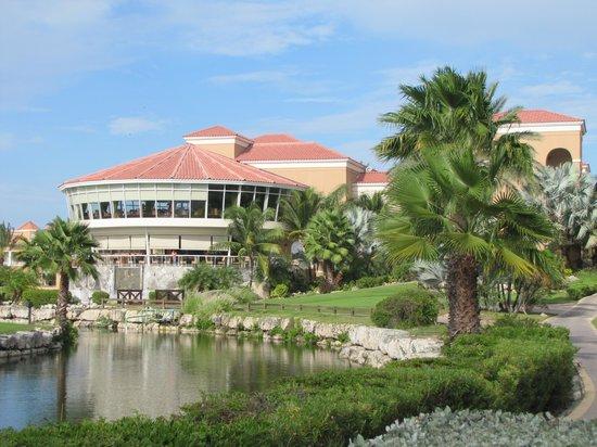 Divi Village Golf and Beach Resort: Restaurantes Mulligan´s y Windows Aruba