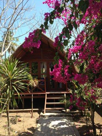 Manta Dive Gili Air Resort: our Sasak bungalow at Manta
