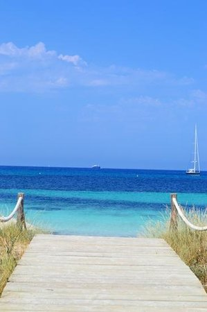 Strand Playa de ses Illetes: Parabéns! Você chegou no paraíso!