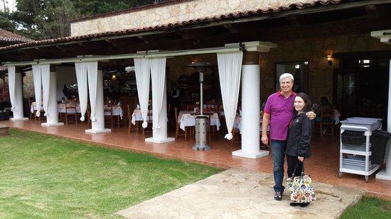 Restaurante Jardines De San Cristobal: Buffet in san Cristobal