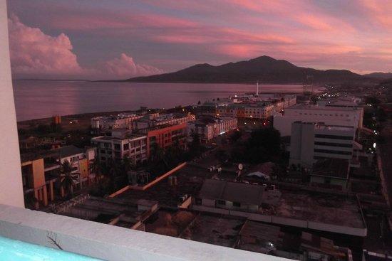 Hotel Gran Puri Manado: View of Molas....