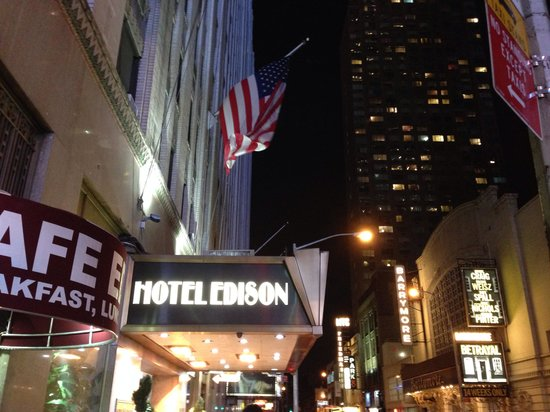 Hotel Edison Times Square: Front