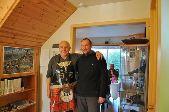 Guesthouse Nonni : real Scotsman :-)