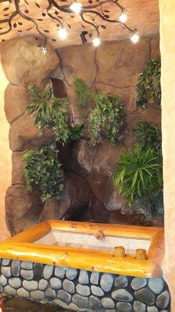 Peace Lodge: Baño