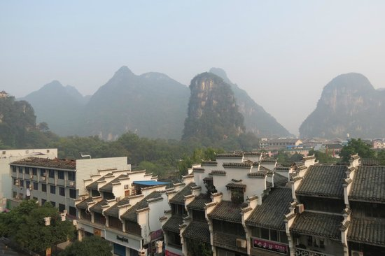 Starway Yangshuo Xijie Xinfu'an Hotel: What a view!