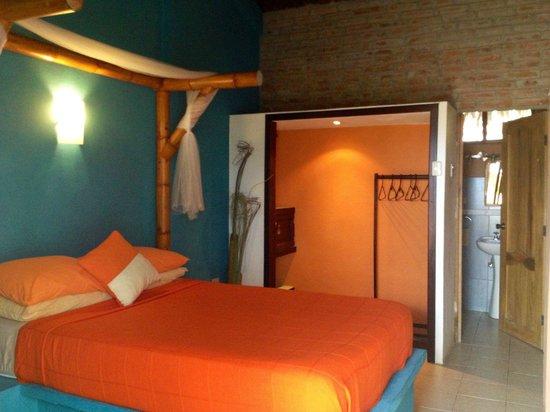 La Buena Vida Hotel- Ayampe: Matrimonial room
