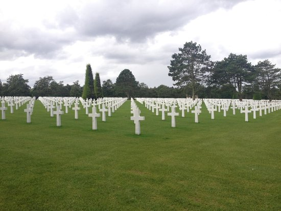Le Manoir Sainte Victoire: American Cemetery. A Must see for all Americans.