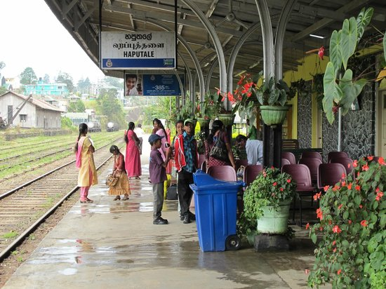 Srilak View Holiday Inn : Train Station